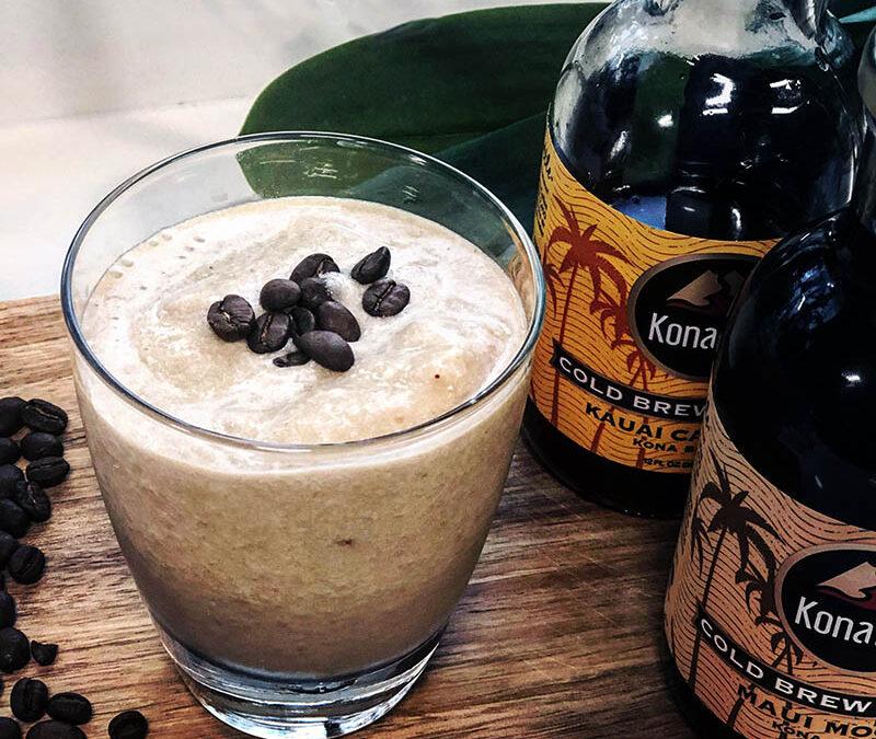 Creamy Coffee Cauliflower Smoothie