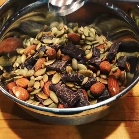 Pumpkin Seed Chocolate Trail Mix