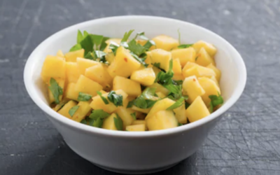 Mango Salsa with Cilantro and Lime