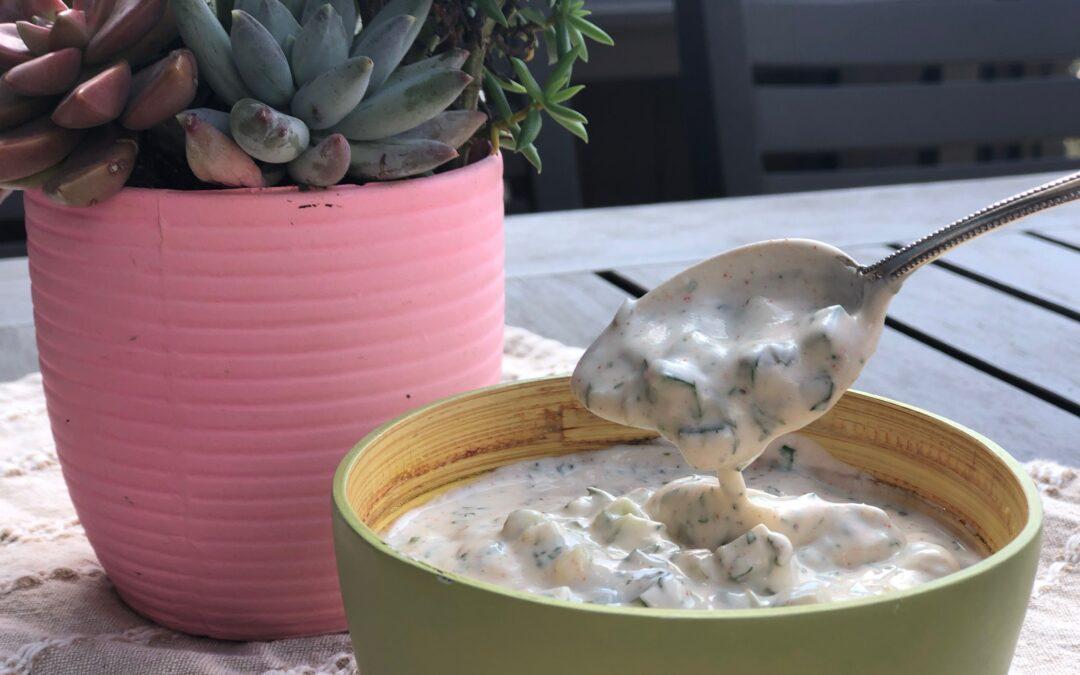 Coconut Yogurt Tzatziki Sauce