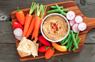 Red Pepper, Smoked Paprika And Cashew Dip